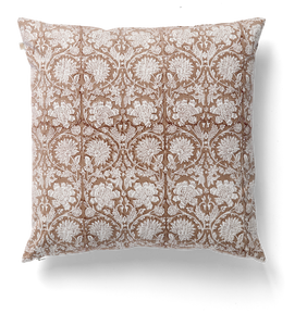 Paradise Cushion in Light Brown