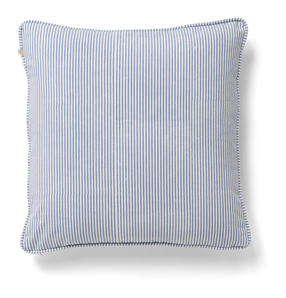 Cushion Cover - Stripe - Cornflower
