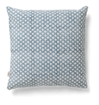 Medallion Cushion in Cashmere Blue