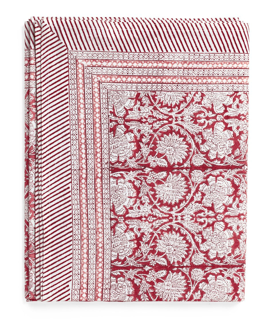 Paradise Tablecloth in Red