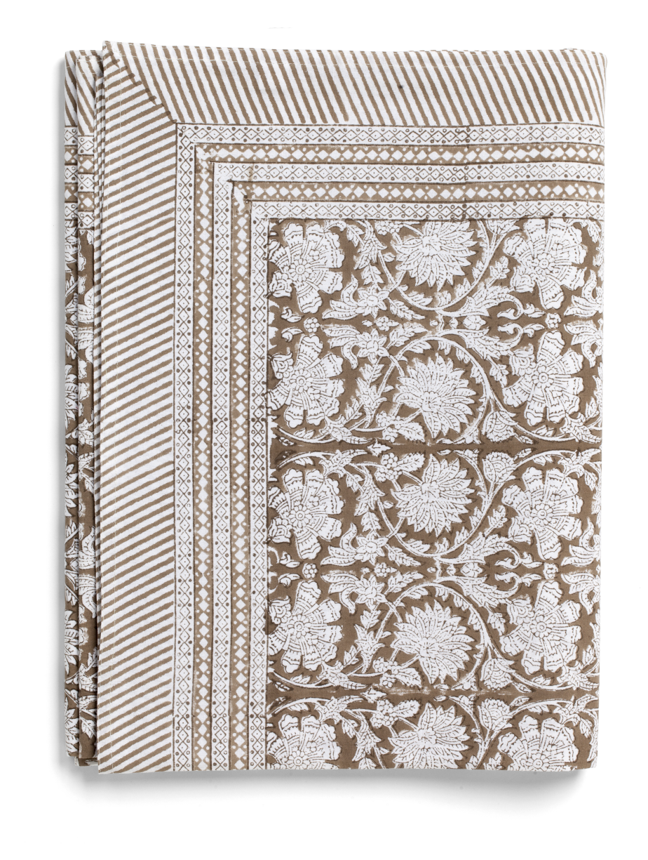 Paradise Tablecloth in Light Brown