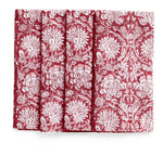 Paradise Napkins in Red