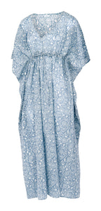 Kaftan in Cashmere Blue