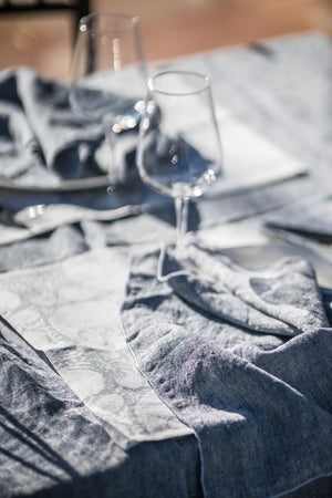 Tablecloth - Chambray - Navy Blue