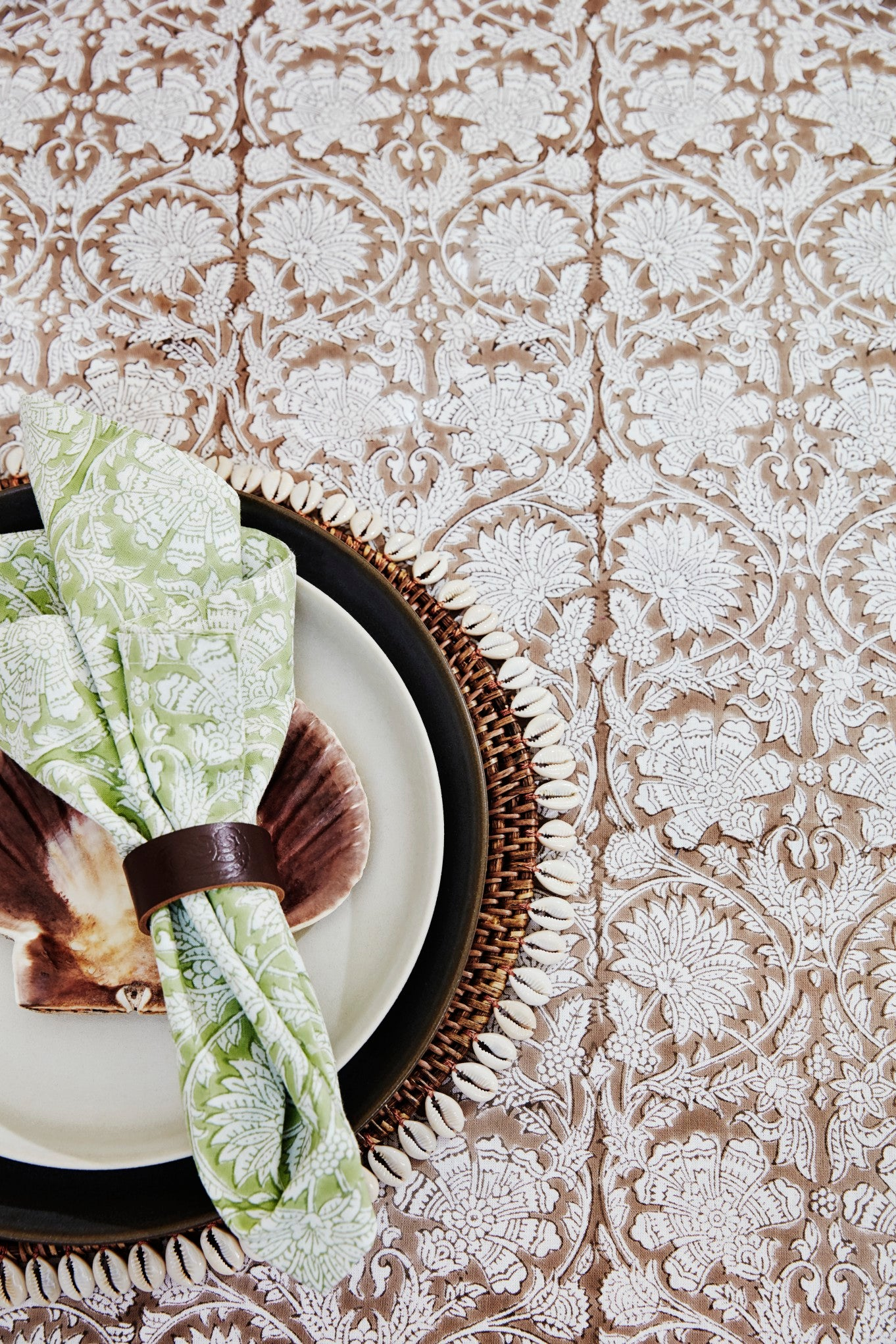 Tablecloth - Paradise - Light Brown