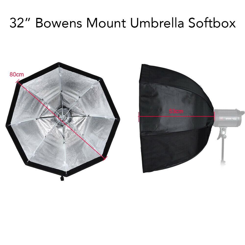 Bowens Mount Softbox and Adapter