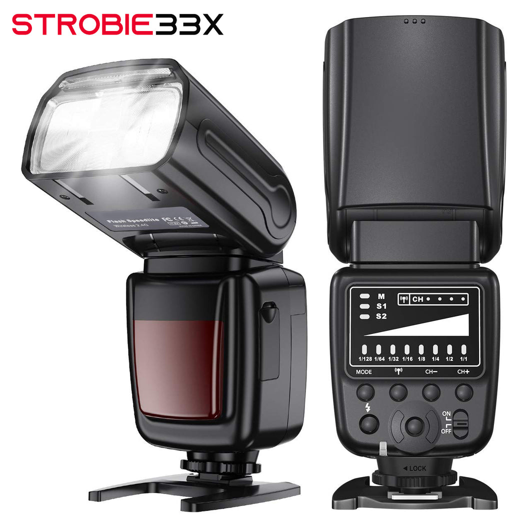 Strobie 33x Two Pack with FREE TRANSMITTER