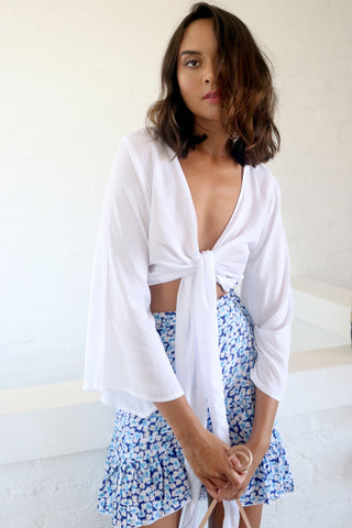 Wrap Top White