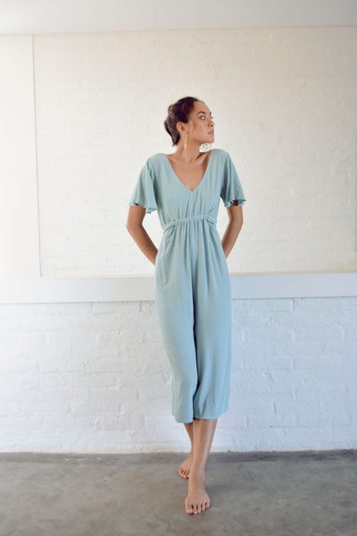 Tara Jumpsuit -Sea Green