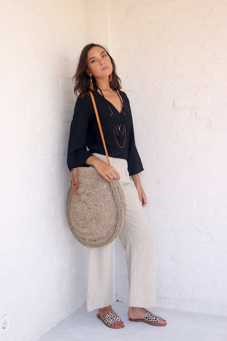 Wrap Top Black