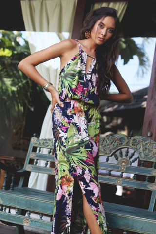 Zoe Maxi Dress - Tropical