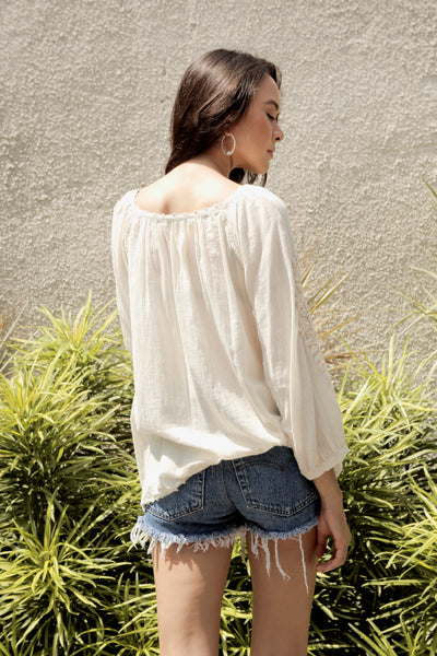 Eleanor Embroidered Blouse