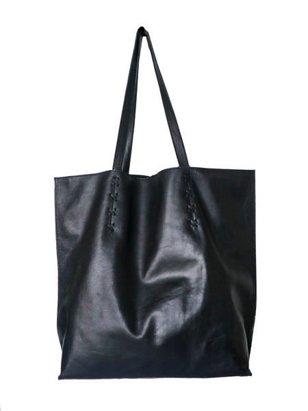 Tote with Braiding and Tassles