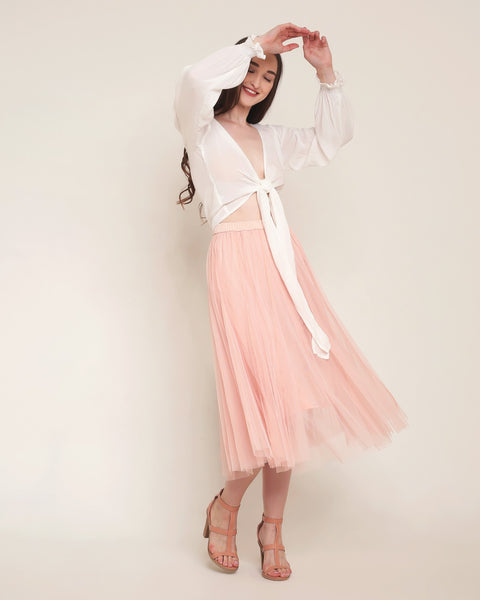 Princess Tulle Skirt - Pale Pink