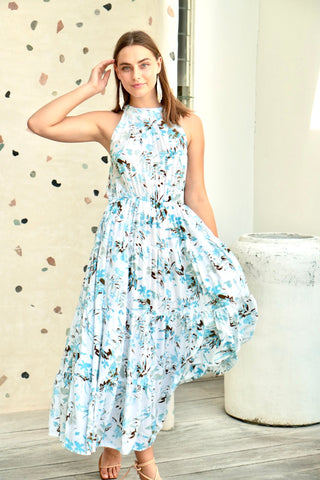 Paloma Flounce Dress  - Summer Floral
