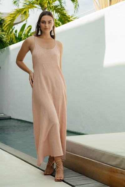 Tahiti Dress - Blush