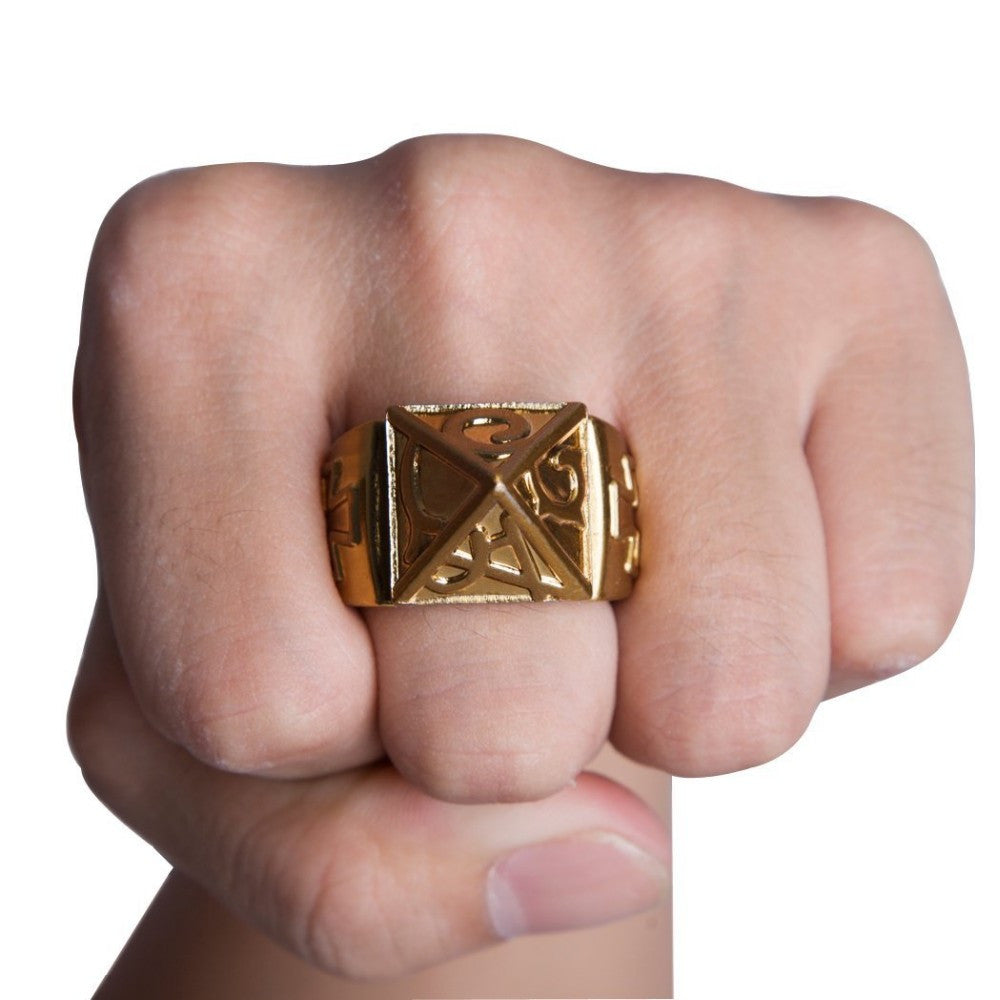 Self Defense Ring With Necklace