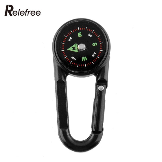 Carabiners Hook Mini Compass
