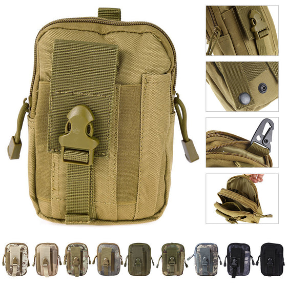 Molle Oxford Waist Belt Bag
