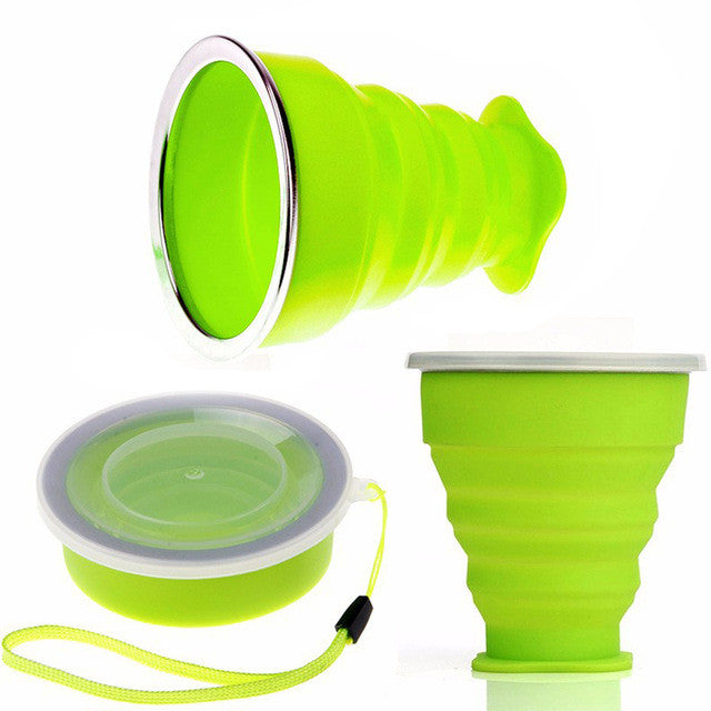 Silicone Retractable Folding Cup
