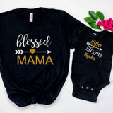 1st Mother's Day Cute Mom & Daughter Personalized Matching Outfits-Unique Designer Outfits