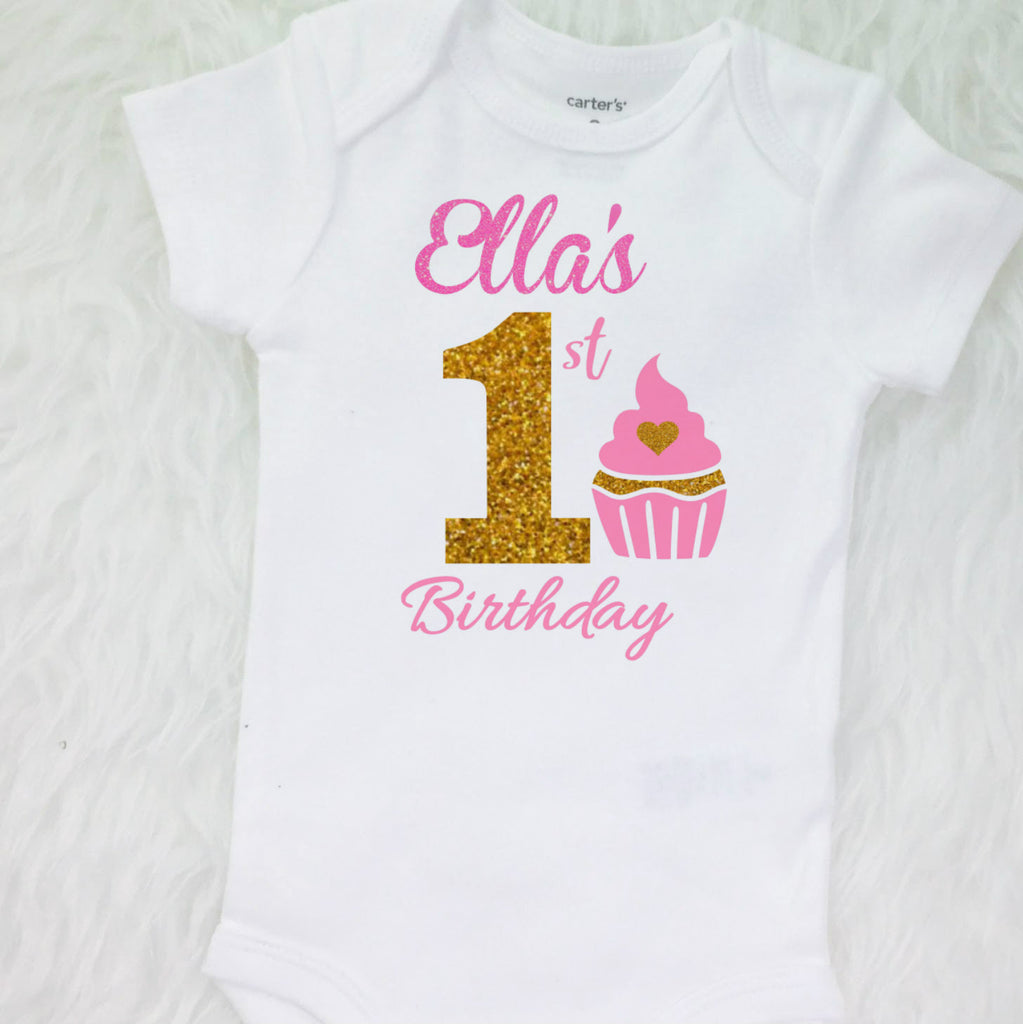56db35eb71786 ... 1st Birthday Outfit, Birthday Cupcake, girls first birthday outfit with  tutu