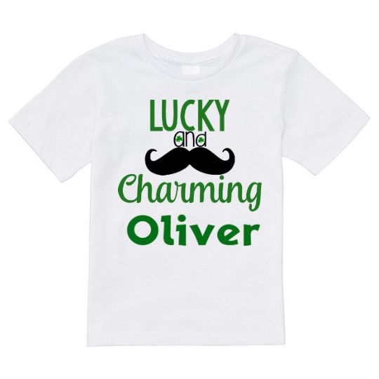 lucky and charming shirt