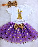 Easter Dress Baby Girl Easter Outfit Girls  Toddler Easter Outfit Girls Lavender Tutu
