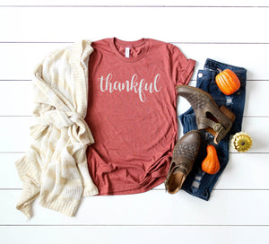 Thankful Shirt - Women's Fall Shirts