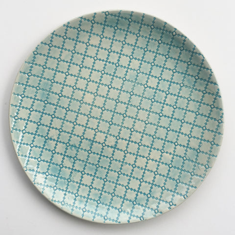 Organic Plate - Turquoise