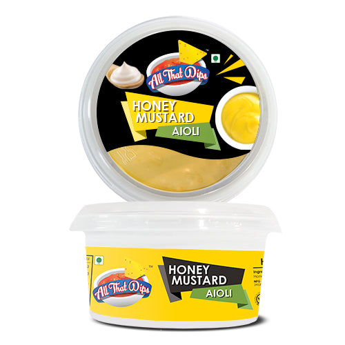 NON TRADITIONAL WAYS TO EAT ALLTHATDIPS HONEY MUSTARD AIOLI