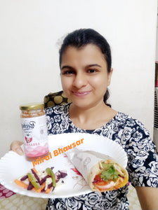 Fusion Wraps :: By Chef Miral Bhavsar