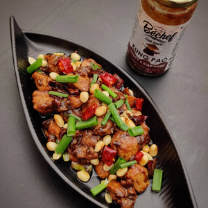 Classic Kung Pao Chicken Using Bechef Kung Pao Sauce :: Chef Tamil Chef