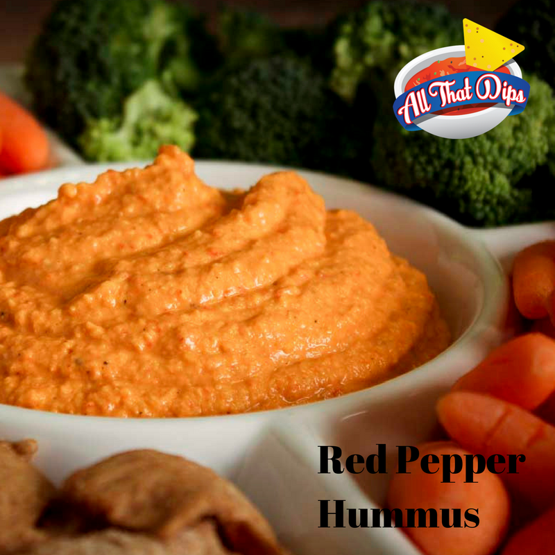 Allthatdips Recipe : Red Pepper Hummus