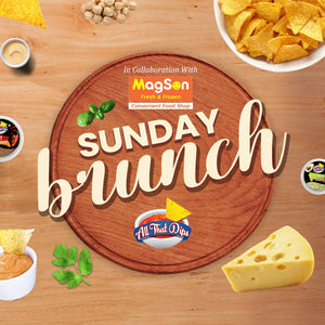 Sunday Brunch by ALLTHATDIPS- Finger food for your party!
