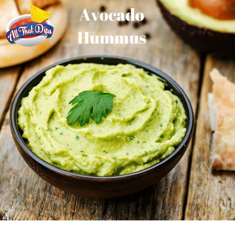 Allthatdips Recipe : Avocado Hummus