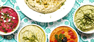 5 WAYS TO MAKE HUMMUS