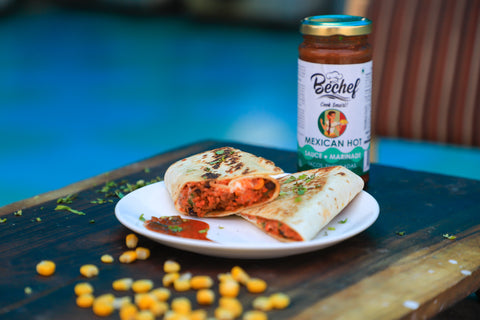 Bechef Mexican Hot sauce, Buy Mexican Sauce Online