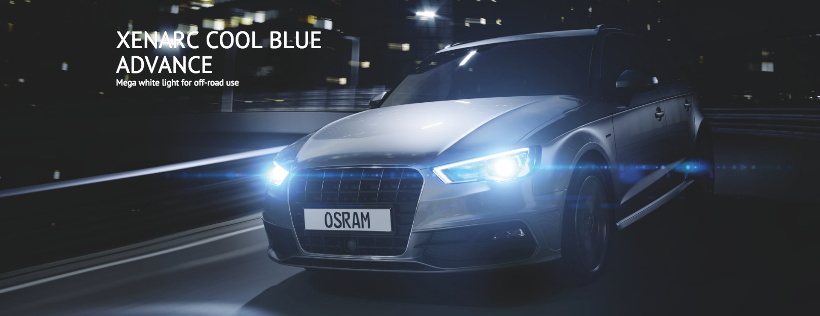 Osram Cool Blue Advance Poster