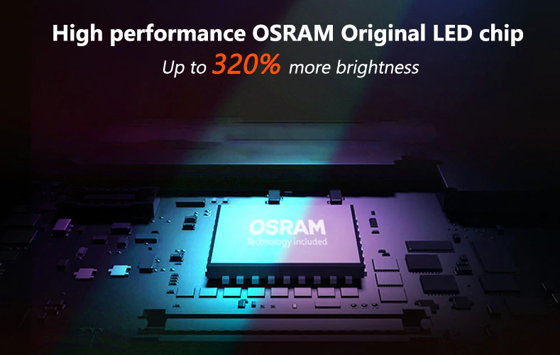 Features of Osram LEDriving