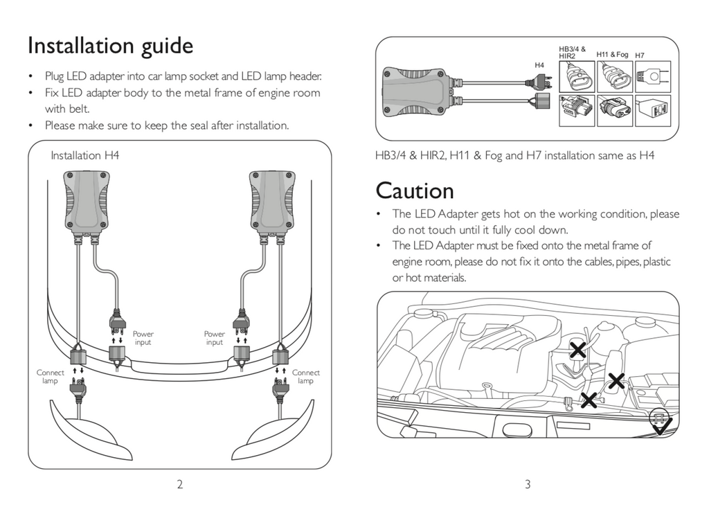 Philips CANbus installation guide