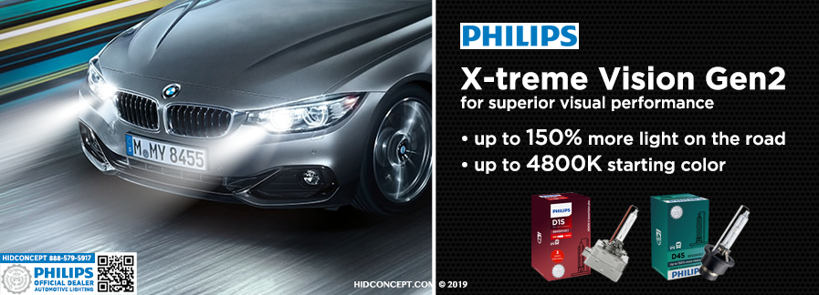 f39390ffe77 D3S - Philips HID X-treme Vision +150% 42403XV2C1 Bulbs (Pack of 2)
