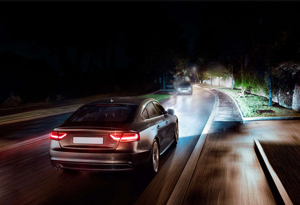 night driving with philips x-treme vision headlight hid bulbs