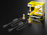 H8/H11/H16 IPF 2400K LED DEEP YELLOW Fog Lamp Kit with unboxed LEDs