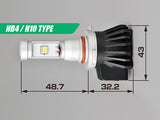 IPF HB4 LED bulb with measurements