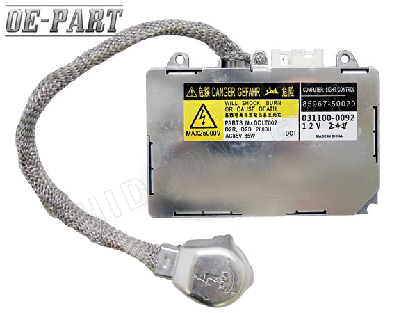 OE-PART: Replacement HID Ballast for DENSO KOITO D2S/D2R