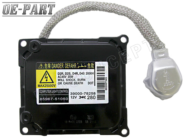 OE-PART: Replacement HID Ballast for DENSO KOITO D4S D4R