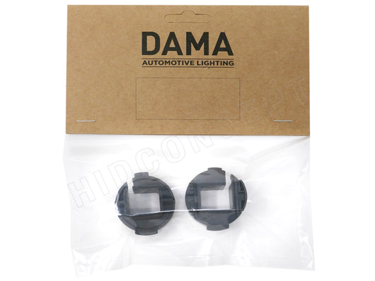 A set of type B DAMA H7 Hyundai to HID Xenon Bulb adapters