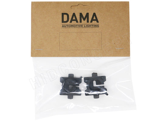 A set of DAMA H7 Mazda to HID Xenon Bulb adapters