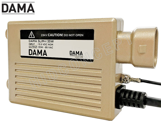 Dama ballast front view